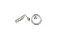 Små ovale øreringe